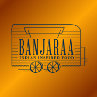 Banjaraa logo event & corporate catering. Indian inspired food from a converted horsebox