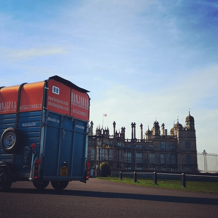 private event and festival catering Burghley House
